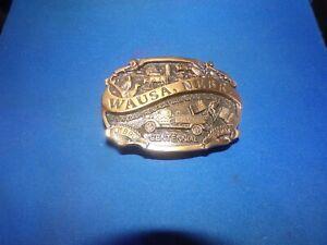 Vintage 1990 WAUSA  NEBRASKA 1890-1990 #3of 250 Centennial Belt Buckle