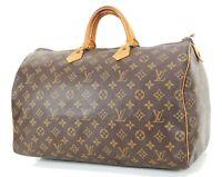 Authentic LOUIS VUITTON Speedy 40 Monogram Boston Hand Bag Purse #35020