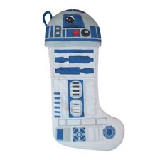 New ~ St. Nicholas Square 21-in. Star Wars R2-D2 LED Light Christmas Stocking