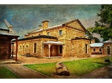 NEW Beechworth Courthouse tin metal sign