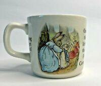 Vintage Wedgwood Beatrix Potter Peter Rabbit Mug