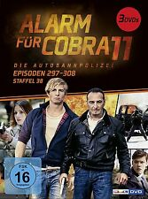 3 DVDs * ALARM FÜR COBRA 11 - STAFFEL 38 # NEU OVP §