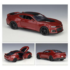 Maisto Die-cast Metal Model 1/24 Scale Chevrolet Camaro ZL1 Red Muscle Car Gifts