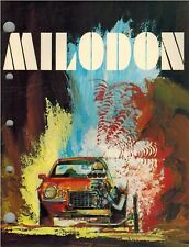 Milodon 1974 Performance Products Catalog, 52 Page PDF File