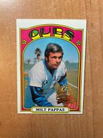 2021 Topps Heritage - Milt Pappas - #208 Original 1972 50th Anniversary Buyback