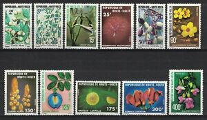 HAUTE-VOLTA:1977 SC#423-33(11) MNH - Flowers