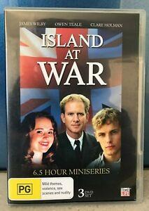 Island At War 6.5 hour miniseries DVD James Wilby Clare Holman Owen Teale