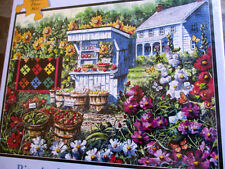 "New 300 Piece Diane Phalen:Art Puzzle ""Summer's Bounty"" Large Format 18""x24"""