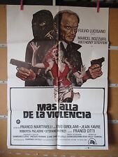 A2354  MÁS ALLÁ DE LA VIOLENCIA - FULVIO LUCISANO - MARCEL BOZZUFFI - DIRECTOR F