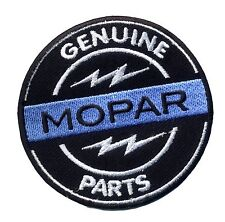 Hot Rod Patch Mopar Badge Genuine Parts Hemi Dodge Drag Race Muscle Car