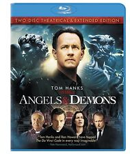 Angels Demons (Blu-ray Disc, 2009, 2-Disc Set, Theatrical Extended Editions)