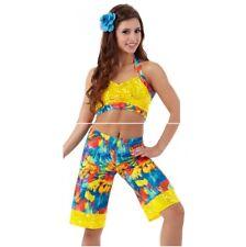 Adult 2XL Paradise Board Shorts Dance Costume Surfer California Hawaiian