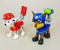 Paw Patrol 2 Figuren mit Rucksackfunktion Marshall & Chase RAR