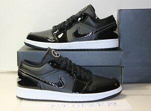 New Nike Mens Size 7.5 Air Jordan 1 Low SE ASW All Star 2021 DD1650-001 Black