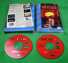 Dracula Unleashed •Sega Genesis CD CDX System/Console •TruVideo • 1993 *CIB*