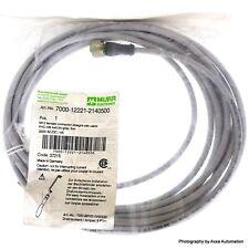 21348500C79005 connecteur M12 0.5 m femelle PIN12 droite avec Lead Plug Harting