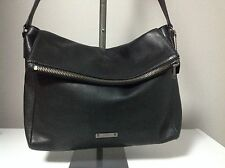 Coach Thompson Leather Black Zip Top Messenger Bag F71236