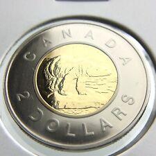 2000 Specimen Canada 2 Dollar Toonie Uncirculated Canadian Coin Two Dollar P693