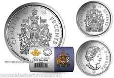 2016 Canada 50 Cents - BU ROLL 25 Coins Special Wrap - E965