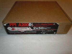 PRECISION POWER PPI ART SERIES A200 AMPLIFIER OLD SCHOOL RARE BLACK 200 WATTS