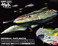 """Space Battleship Yamato 2199 Nazuga Class Kiska 1/1000 Plastic Kit Japan"