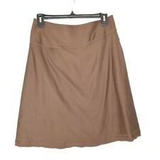 C14 Mountain Hardwear Women's S Small Pull On Active Hiking Skirt Stretch Brown