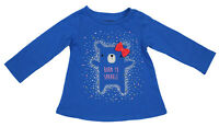 First Impressions Baby Girls 18 Months Born to Sparkle Long Sleeve T-Shirt NWT