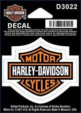 Harley Davidson Aufkleber/Sticker Modell Harley Davidson B&S Orange XS