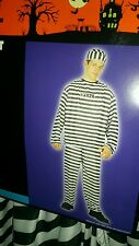 mens convict halloween costume ghoul