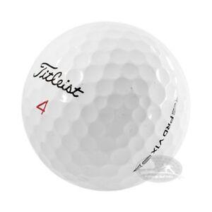 100 Titleist Pro V1x palline da golf usate Cat. 5 Stelle (PEARL) used golf balls