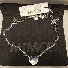 BNWT MIMCO WAVER Necklace Silver FREE EXPRESS