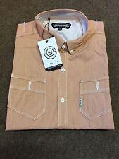 Duck & Cover 'Metcalf' Short Sleeve Shirt/Tuscan - 3X (DAC4F0014)