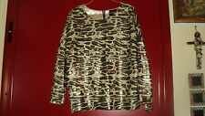 ZARA SEQUINED TOP BLOUSE TUNIC ANIMAL PRINT CREW NECK*M*LIMITED EDIT.*NEVER WORN