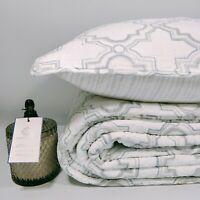 Vivian 100% Cotton Coverlet Bedspread Comforter Bedcover Set 3pcs - Queen
