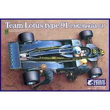 Ebbro E012 Team Lotus Type 91 (1982) 1:20 Coche Modelo Kit 20012