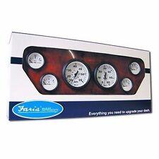 Faria Euro Gauge SET Tachometer Speed Fuel Volt Water Temp Oil Press Inboard MD