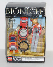LEGO BIONICLE WATCH W/ BONUS BUILDING ACCESSORY, RED