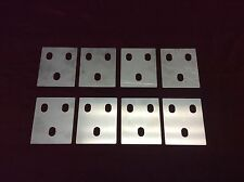 1966-1977 EARLY FORD BRONCO STAINLESS STEEL DOOR HINGE SHIM KIT!      (8) SHIMS!