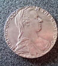 ITALY MEDAIL MARIA TERESA 1780 TALLER - NO SILVER - NO COIN