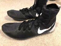 NWOB Nike Zoom Victory XC 4 Track Cross Country Spike Men's 10.5 Black White