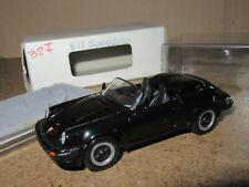 513Q NZG Modèle No 327 Allemagne Porsche 911 Speedster Noir 1:43 + Boite