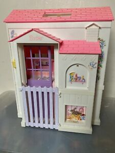 Vintage Barbie Doll 1996 Folding House Ultra Rare No Accessories Good Condition