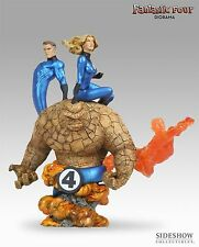 USED - NON EXCLUSIVE Fantastic Four 4 Diorama Sideshow Collectibles 337/750