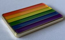 Rainbow Pride Geocoin Trackable Geocaching Gold Finish LE