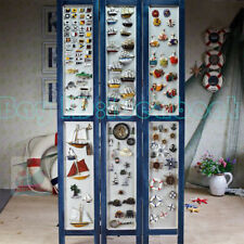 Miniature Sailing Ship Boat Lifebelt LIghthouse Refrigerator Magnet Nautical