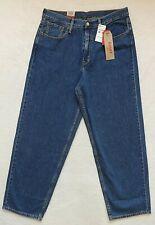 Levis Baggy Fit Jeans Mens Size 33x32 Blue Cotton Denim