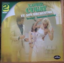 """XAVIER CUGAT ET SON ORCHESTRE """"GRANDS SUCCES"""" DOUBLE FRENCH LP MERCURY"""