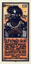 Morphine HANDBILL 311 Big Chief Weezer 89X Festival Mark Arminski