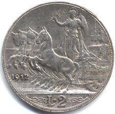 1912R Italia Vittorio Emanuele 2 LIRE *** Da collezione *** alta qualità ***