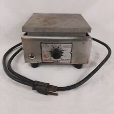 Thermolyne Hot Plate Model HP-A1915B Type 1900 115 Volts AC 700 Watts Vintage